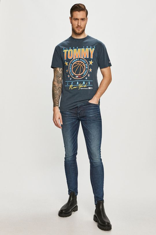 Tommy Jeans - Rifle Simon modrá