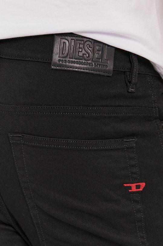 czarny Diesel - Spodnie D-amny