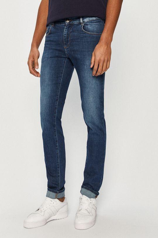 niebieski Trussardi Jeans - Jeansy Męski