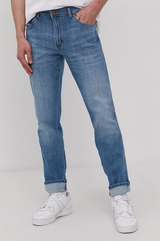 modrá Wrangler - Džíny Texas Slim Pánský
