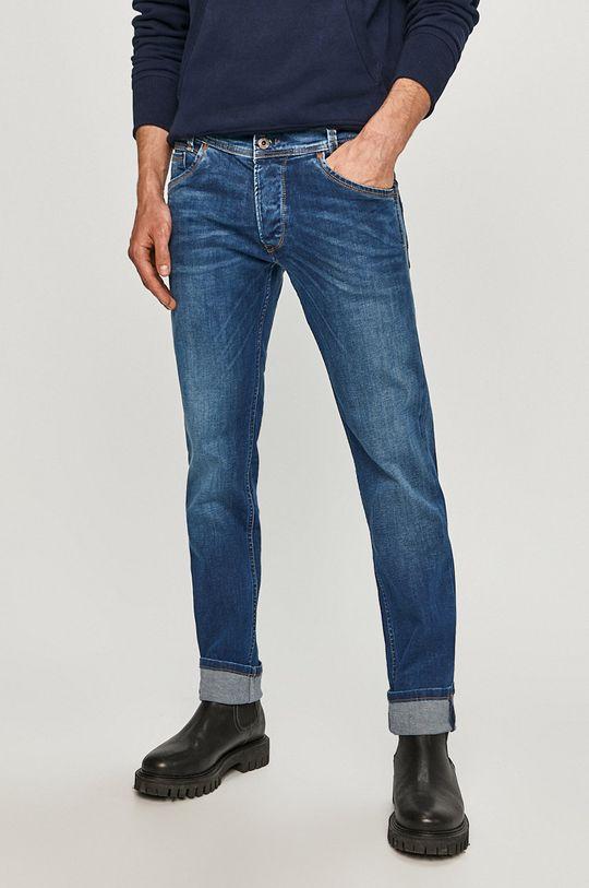 modrá Pepe Jeans - Džíny Spike Pánský