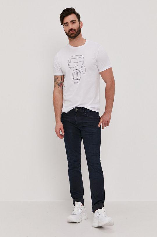 Karl Lagerfeld - Džíny námořnická modř