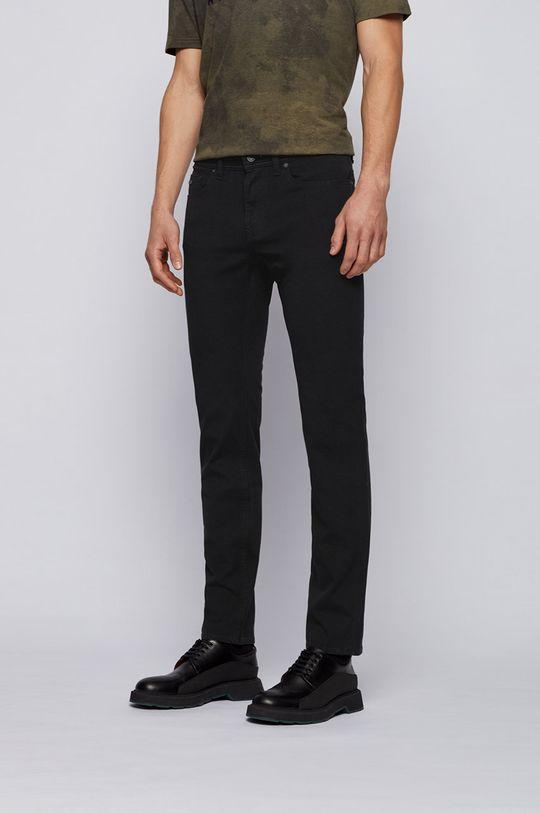 czarny Boss - Spodnie Boss Casual Męski