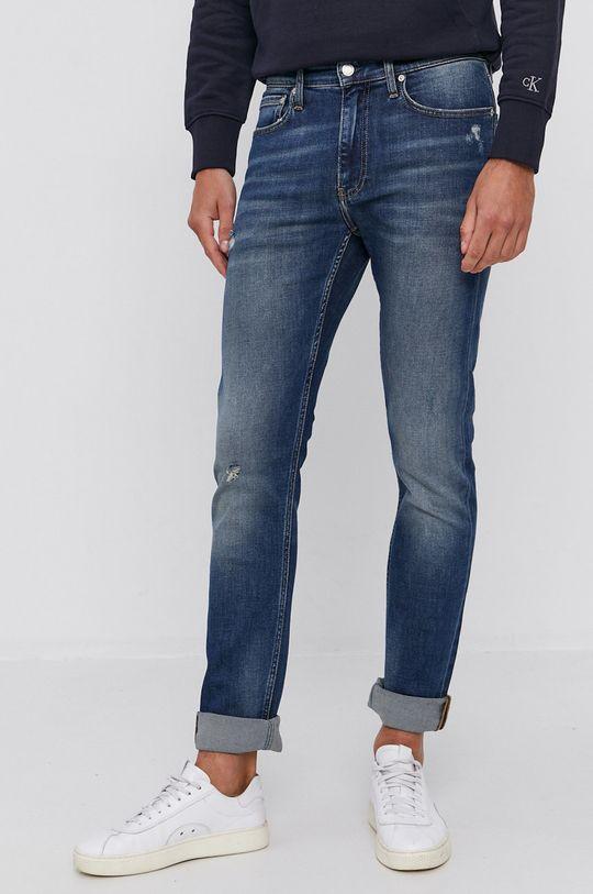 granatowy Calvin Klein Jeans - Jeansy CKJ 026 Męski