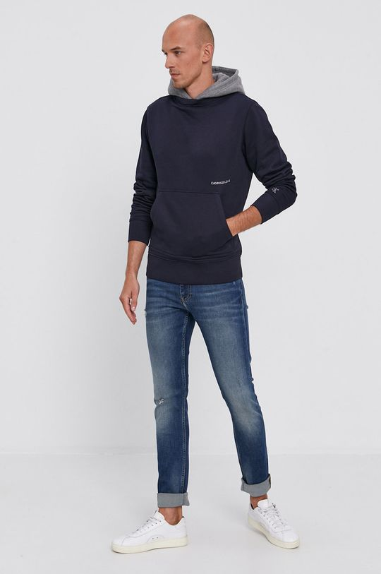 Calvin Klein Jeans - Jeansy CKJ 026 granatowy