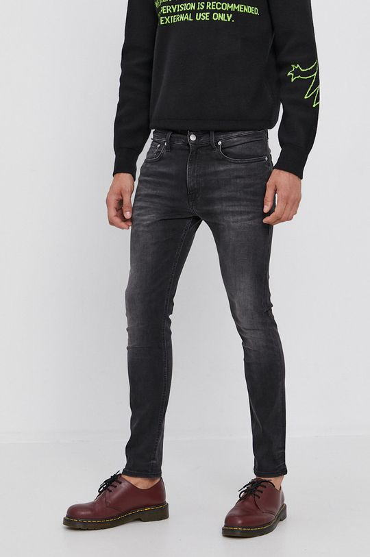 černá Calvin Klein Jeans - Džíny Pánský