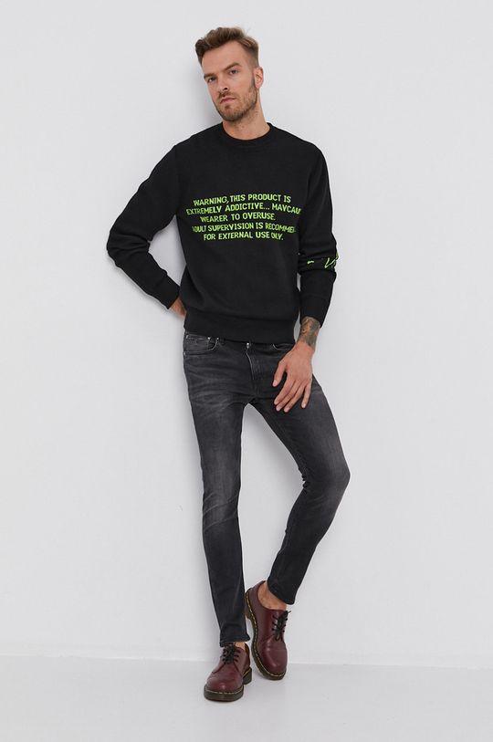 Calvin Klein Jeans - Džíny černá