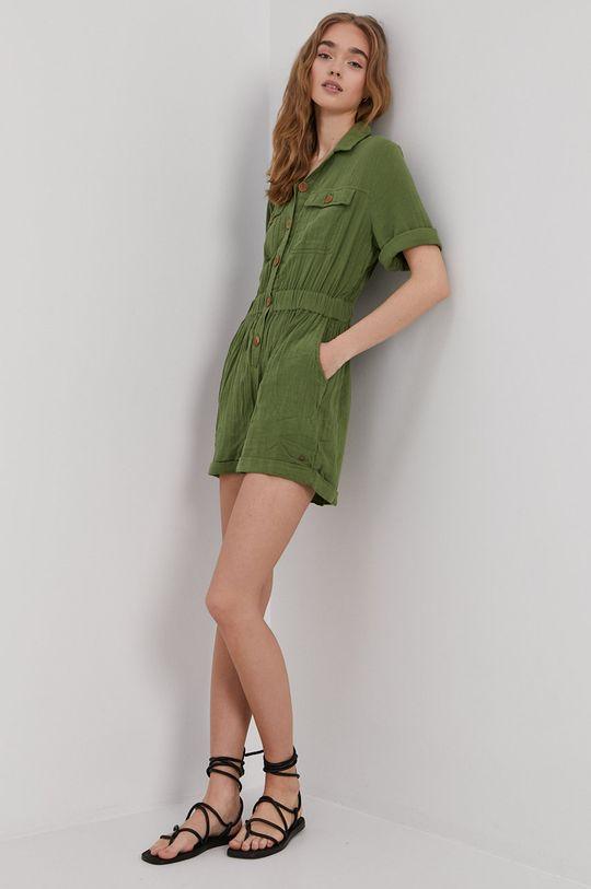 zielony Roxy - Kombinezon Damski