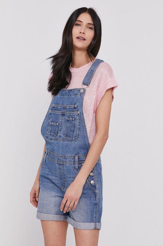 niebieski Pepe Jeans - Ogrodniczki Abby Fabby Damski
