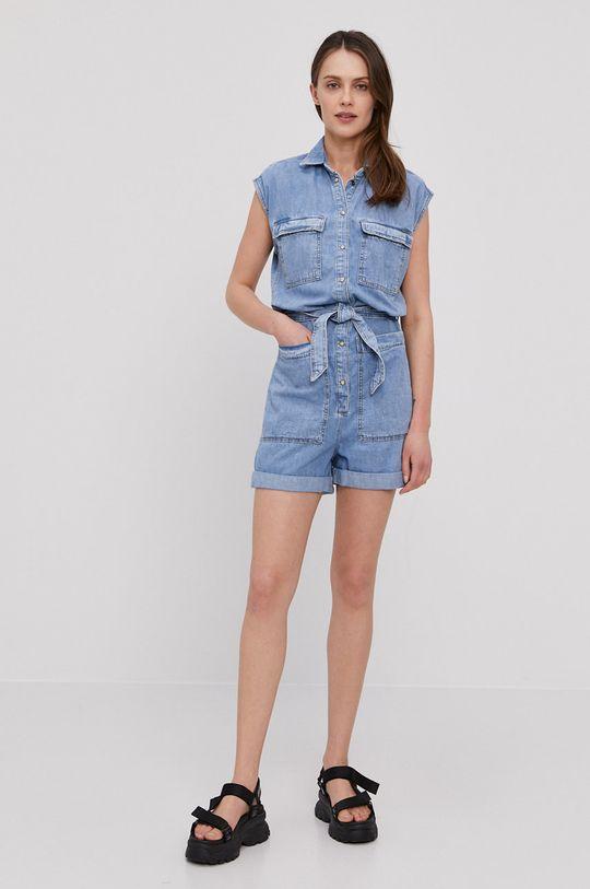 Pepe Jeans - Salopeta jeans Gemini albastru
