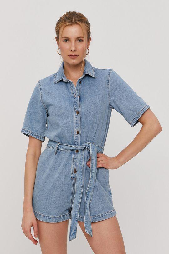 niebieski Billabong - Kombinezon jeansowy Damski
