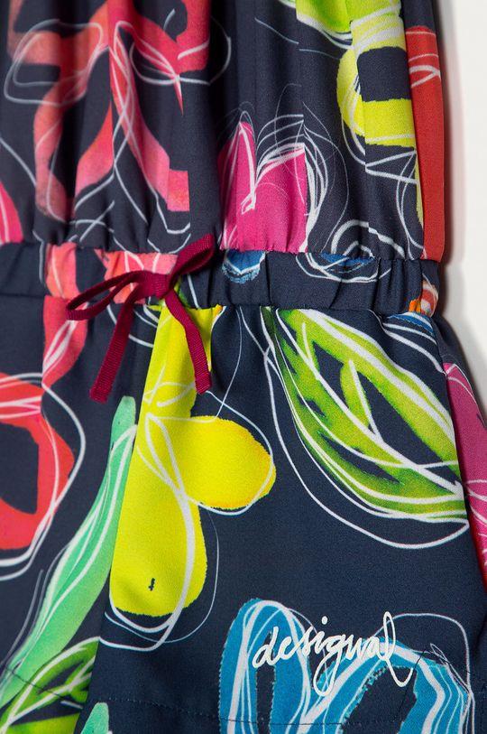 Desigual - Dětský overal 104-164 cm  100% Polyester Pokyny k praní a údržbě:  prát v pračce při teplotě 30 stupňů, nelze sušit v sušičce, nebělit, žehlit na nízkou teplotu, Nečistit chemicky
