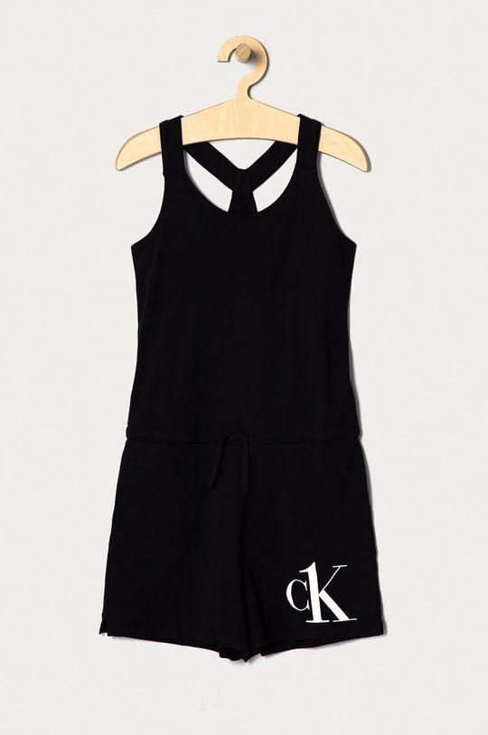 czarny Calvin Klein - Kombinezon dziecięcy 128-176 cm Dziewczęcy
