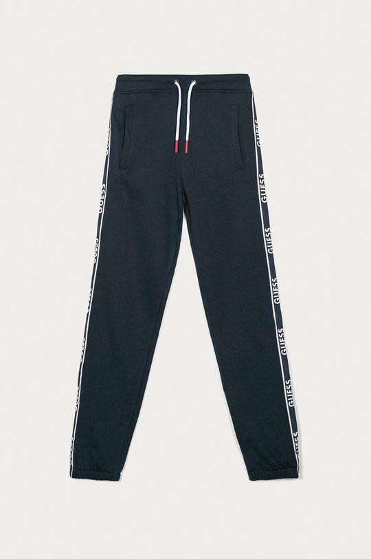 tmavomodrá Guess - Detské nohavice 128-175 cm Chlapčenský