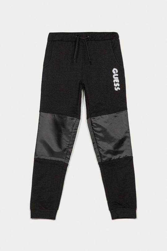 čierna Guess - Detské nohavice 116-175 cm Chlapčenský