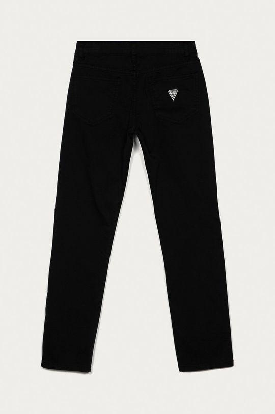 Guess - Spodnie dziecięce 116-176 cm czarny