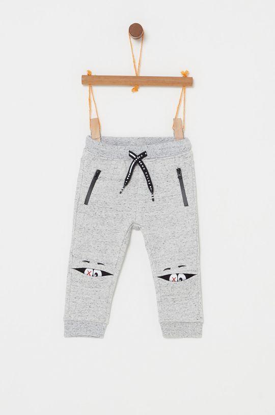 světle šedá OVS - Dětské kalhoty 74-98 cm Chlapecký