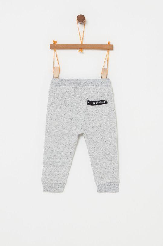 OVS - Dětské kalhoty 74-98 cm světle šedá