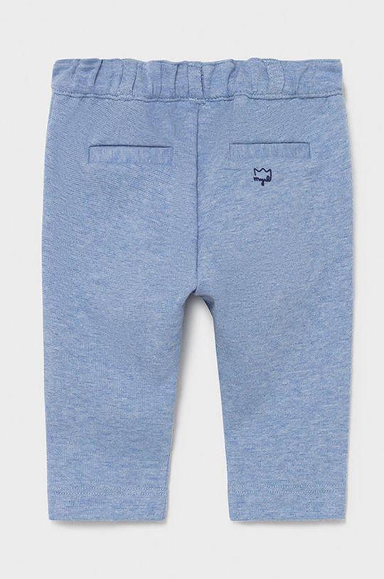 Mayoral Newborn - Spodnie niemowlęce jasny niebieski
