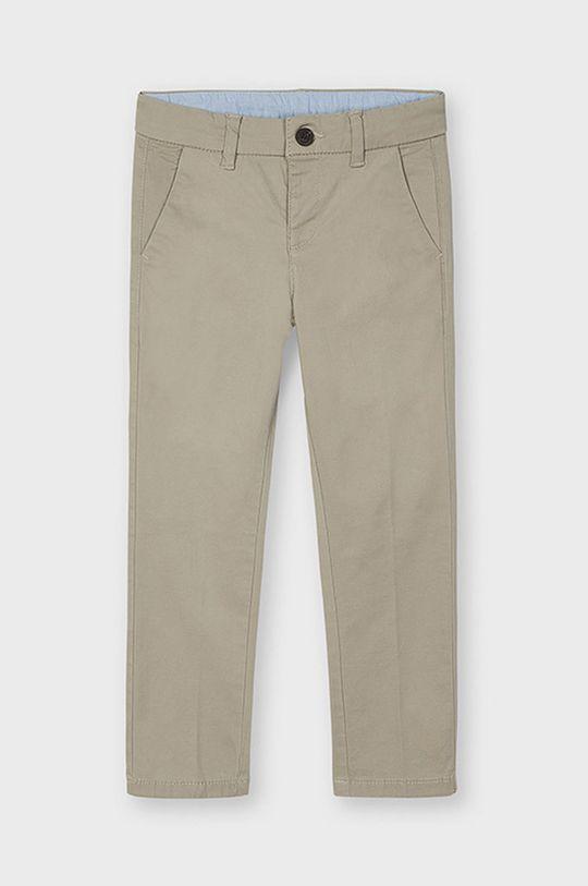 piaskowy Mayoral - Spodnie dziecięce 92-134 cm Chłopięcy