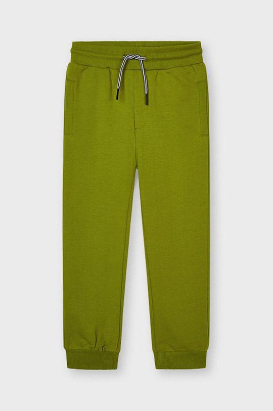 oliwkowy Mayoral - Spodnie dziecięce Chłopięcy