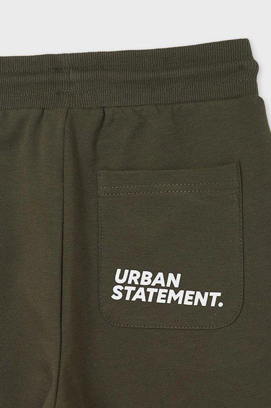 hnedozelená Mayoral - Detské nohavice