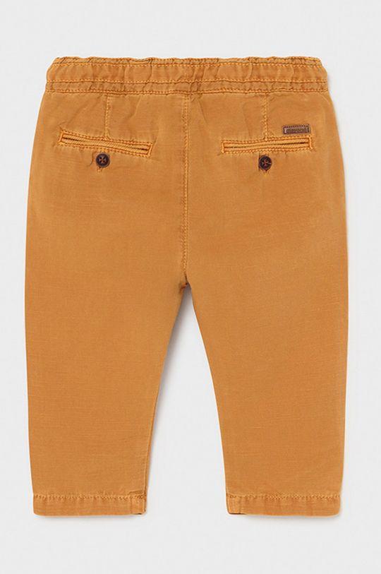 Mayoral - Pantaloni copii maro auriu
