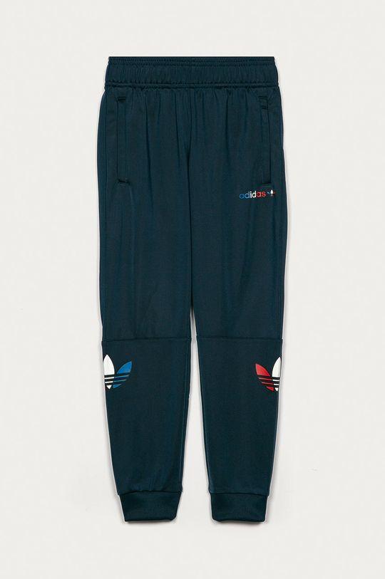 námořnická modř adidas Originals - Dětské kalhoty 134-176 cm Chlapecký
