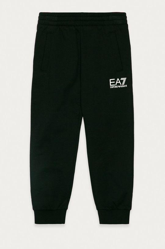 negru EA7 Emporio Armani - Pantaloni copii 104-134 cm De băieți