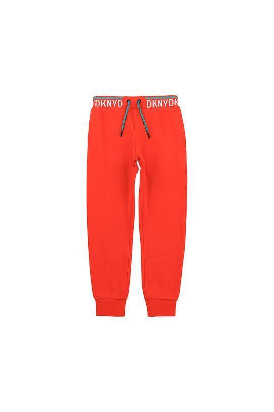 korálová Dkny - Dětské kalhoty 114-150 cm Chlapecký