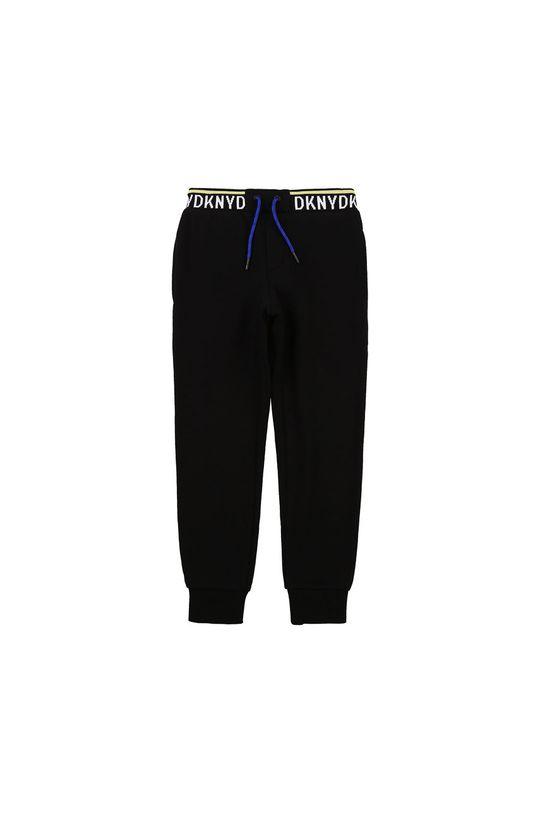 černá Dkny - Dětské kalhoty 114-150 cm Chlapecký