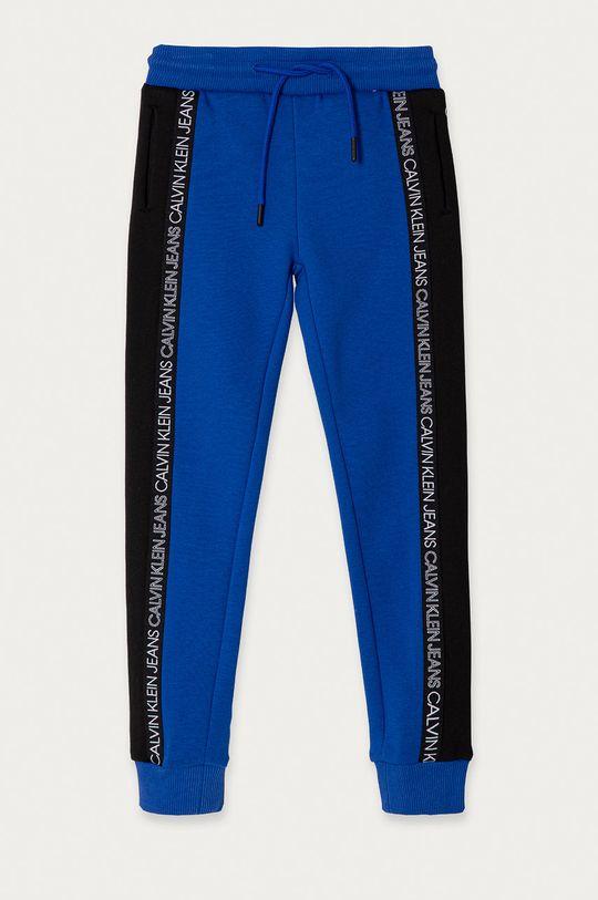 niebieski Calvin Klein Jeans - Spodnie dziecięce 104-176 cm Chłopięcy