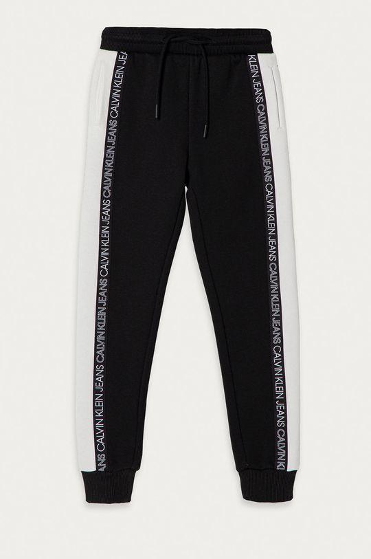 čierna Calvin Klein Jeans - Detské nohavice 104-176 cm Chlapčenský