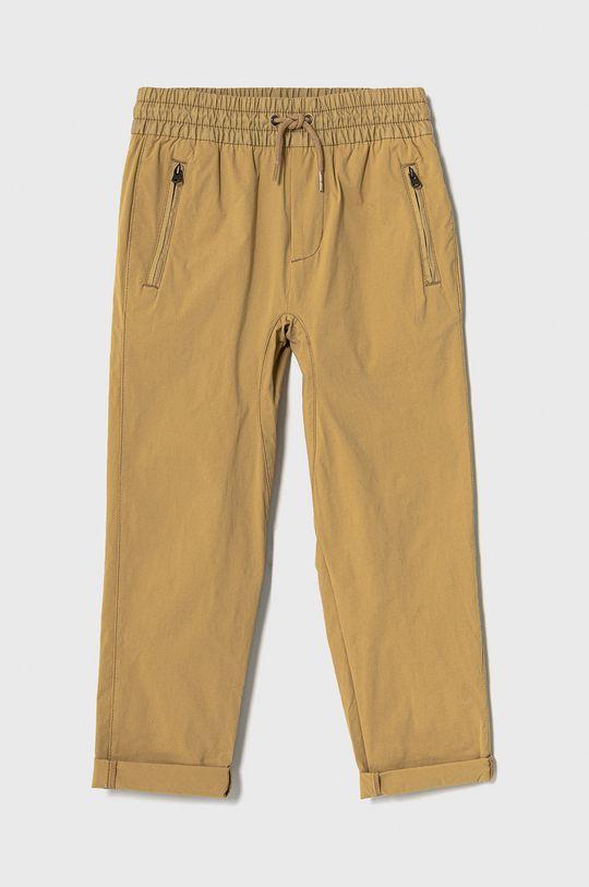 olivová GAP - Dětské kalhoty 104-176 cm Chlapecký