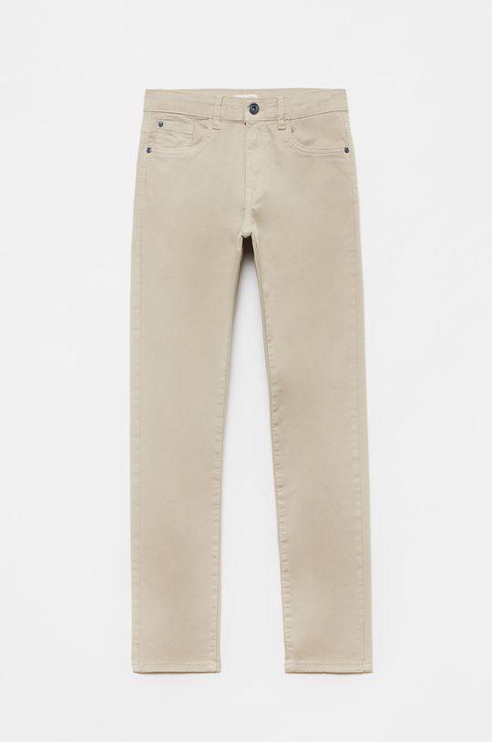 piaskowy OVS - Spodnie dziecięce Chłopięcy