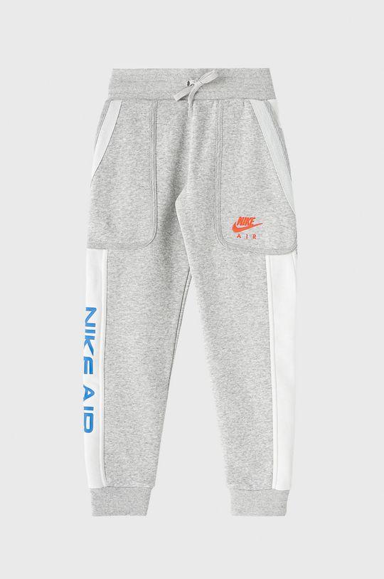 světle šedá Nike Kids - Dětské kalhoty 122-170 cm Chlapecký
