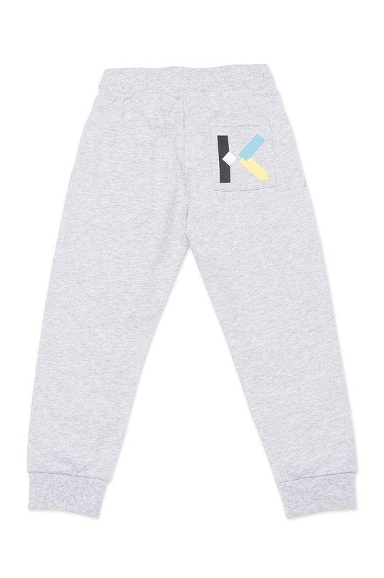 KENZO KIDS - Dětské kalhoty světle šedá