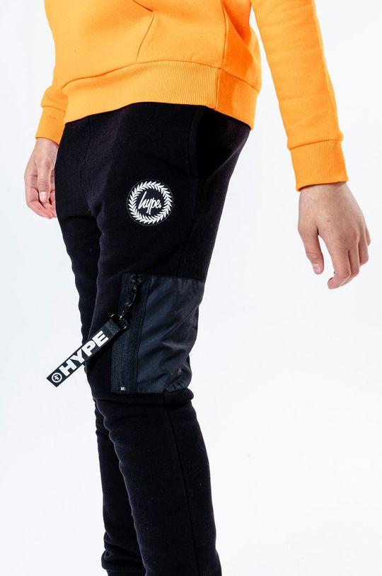 czarny Hype - Spodnie dziecięce BLACK STEALTH