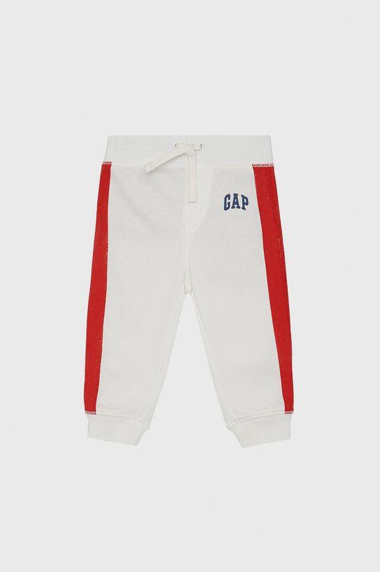 biały GAP - Spodnie dziecięce Chłopięcy