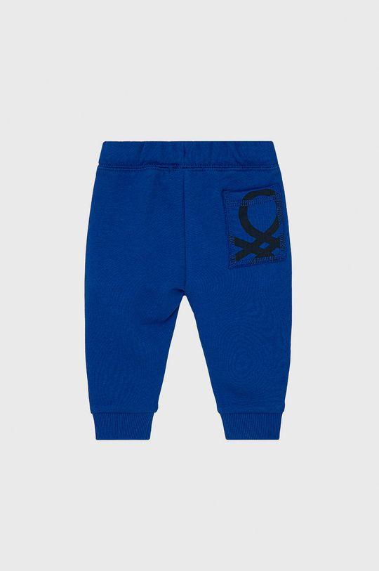 United Colors of Benetton - Dětské kalhoty fialová