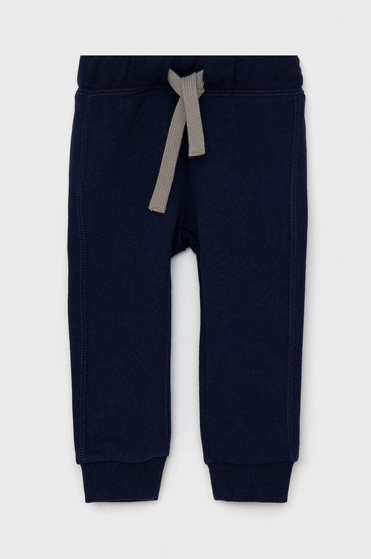 námořnická modř United Colors of Benetton - Dětské kalhoty Chlapecký