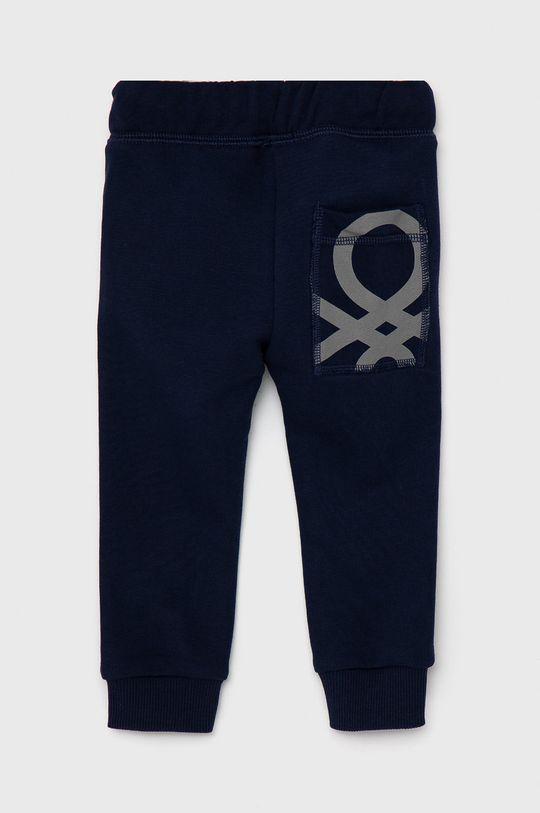United Colors of Benetton - Dětské kalhoty námořnická modř