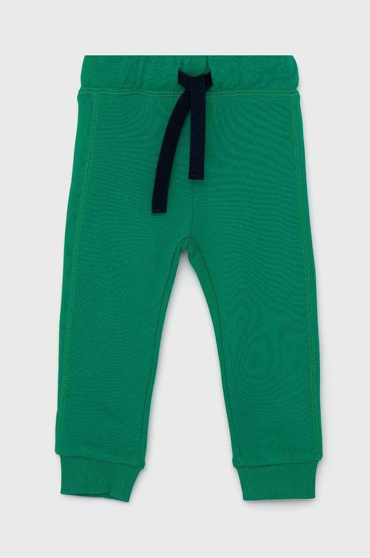 zelená United Colors of Benetton - Dětské kalhoty Chlapecký