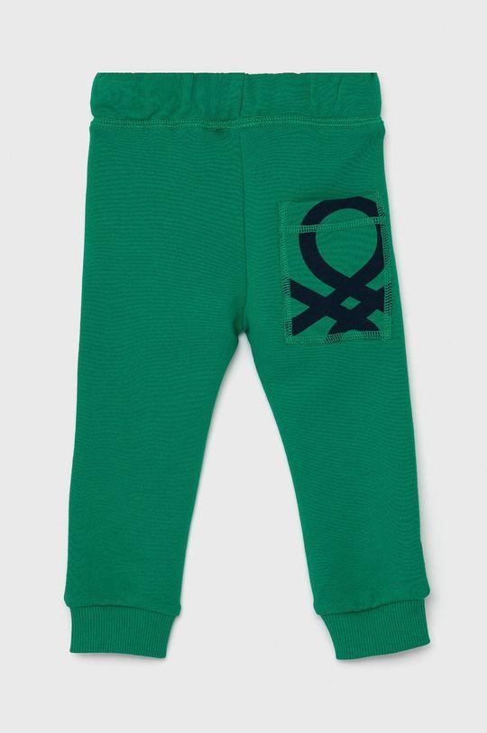 United Colors of Benetton - Dětské kalhoty zelená