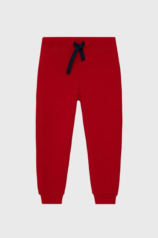 červená United Colors of Benetton - Dětské kalhoty Chlapecký