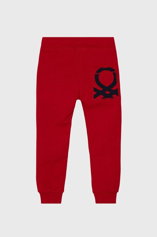 United Colors of Benetton - Dětské kalhoty červená