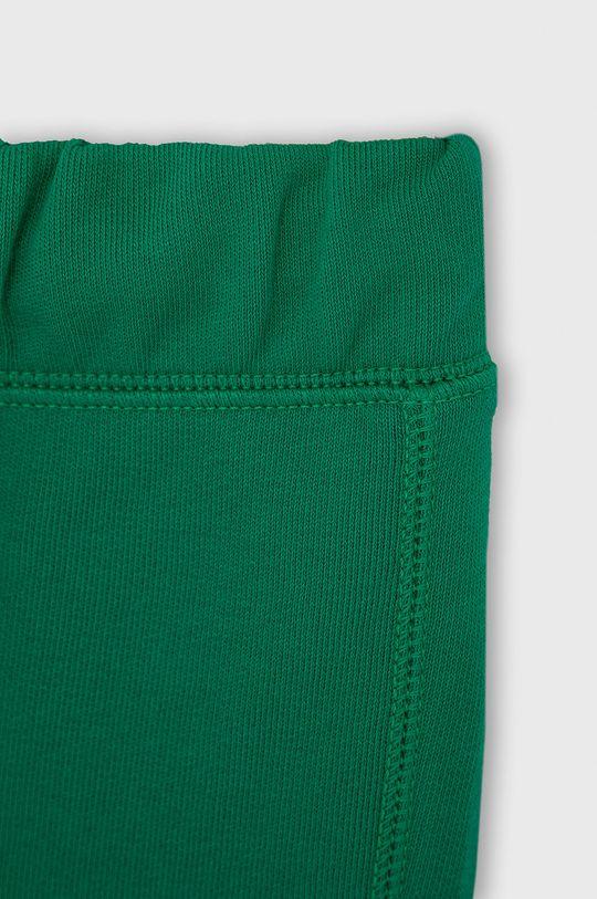 zelená United Colors of Benetton - Dětské kalhoty