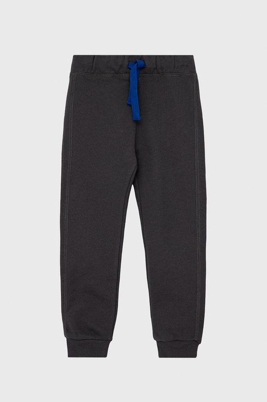 šedá United Colors of Benetton - Dětské kalhoty Chlapecký