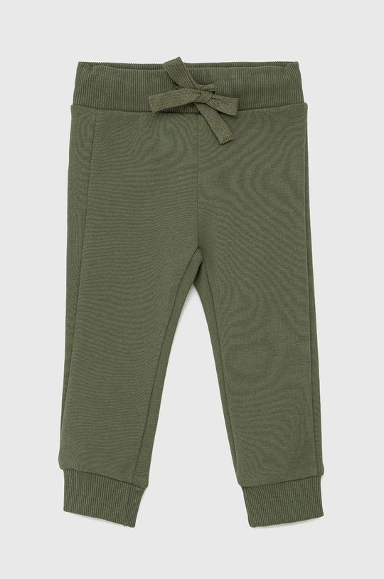 tlumená zelená United Colors of Benetton - Dětské kalhoty Chlapecký