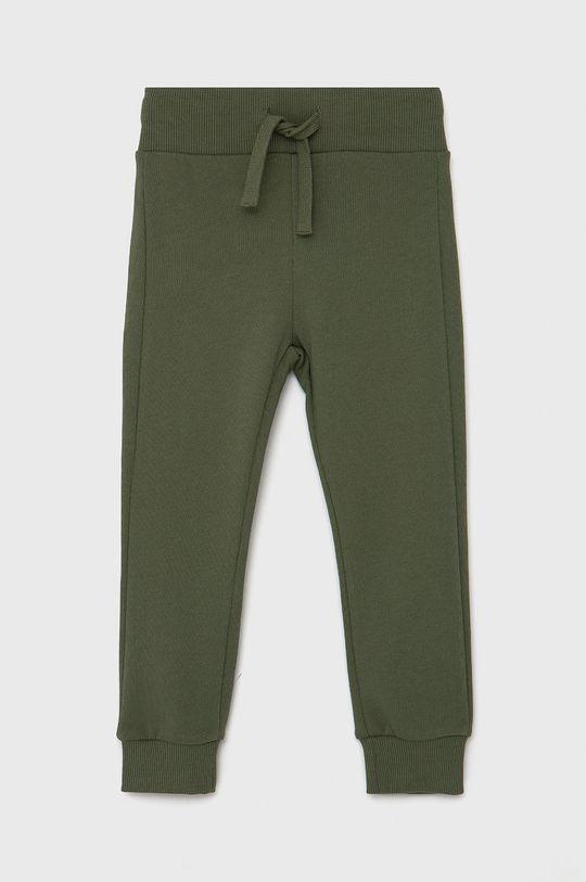 brudny zielony United Colors of Benetton - Spodnie dziecięce Chłopięcy